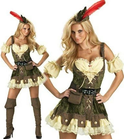 Kostüme Faschingsideen und Karneval robin hood