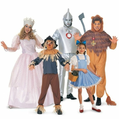 Faschingsideen und karneval kostüme zauberer oz