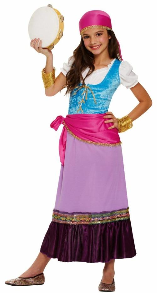 Kostüme zegeuner Faschingsideen und Karneval mädchen