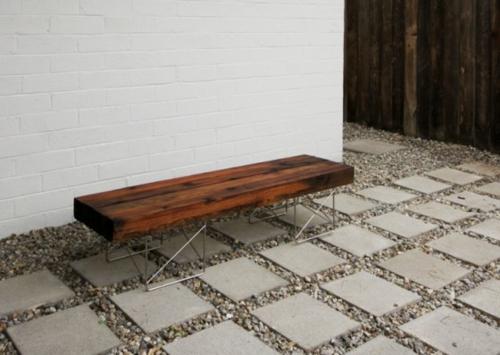 Balkonmobel Aus Paletten Selber Bauen : Nützliche Anleitung dafür, wie man eine Gartenbank selber bauen kann