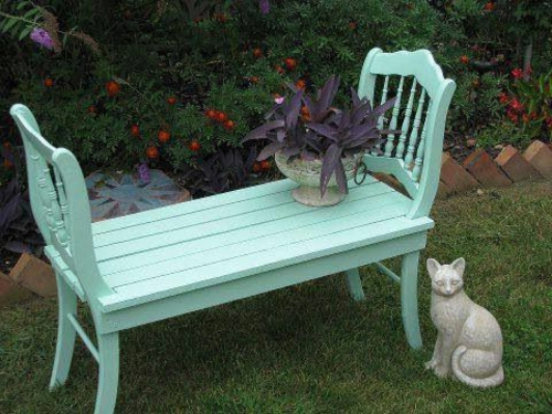 Gartenmobel Rattan Und Teak : Nützliche Anleitung dafür, wie man eine Gartenbank selber bauen kann