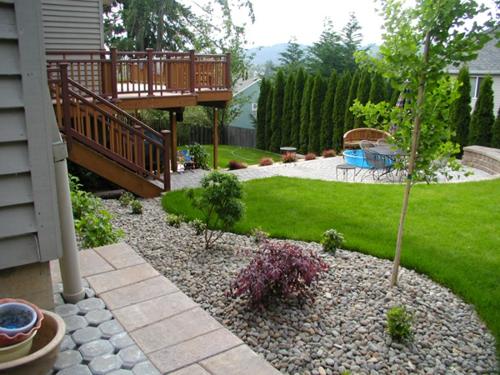 GroB 34 Coole Ideen Für Gartengestaltung Mit Kies ...
