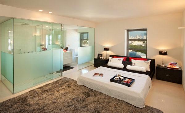 Schlafzimmer Und Badezimmer Kombiniert U2013 Marauders, Wohnzimmer Design