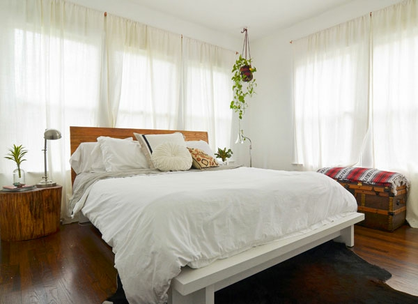Hängende Zimmerpflanzen und Balkonpflanzen schlafzimmer