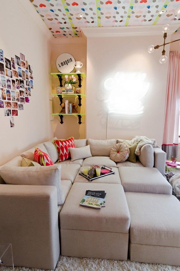 kleine sofas fur jugendzimmer: kleines kinderzimmer gestalten, Hause deko