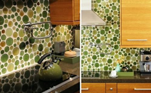 Küchenrückwand einbauen auffallend