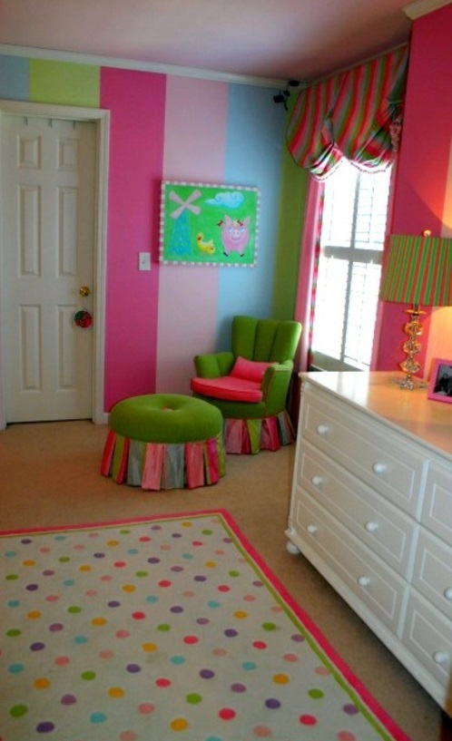 kinderzimmer streichen 20 bunte dekoideen. Black Bedroom Furniture Sets. Home Design Ideas