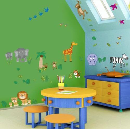 Chestha.com | Kinderzimmer Bunt Dekor