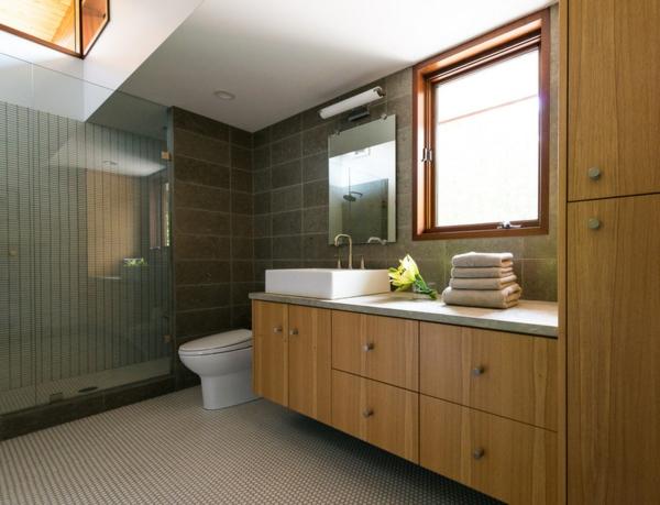 waschtisch holz moderne badezimmer ideen holzmbel