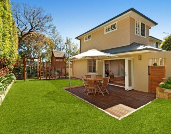 Gartenideen landschaft Moderne Gartengestaltung  sommerhaus