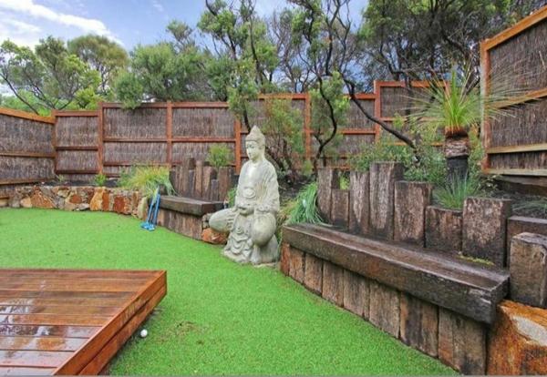 Gartenideen landschaft Moderne Gartengestaltung  trends angenehm