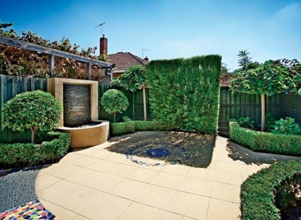 Gartenideen landschaft trends Moderne Gartengestaltung bodenbelag