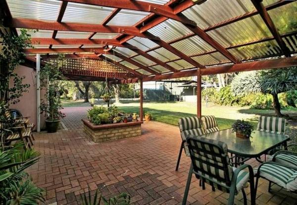 Gartengestaltung Gartenideen landschaft trends dach
