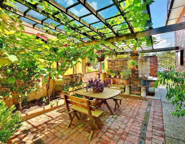 laub Gartengestaltung Gartenideen landschaft trends einladend überdachung