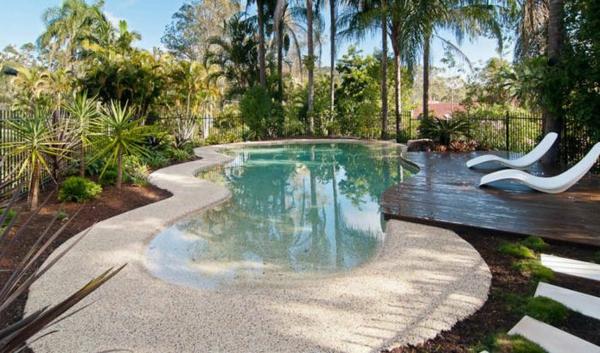 pool Gartengestaltung Gartenideen landschaft trends einladend fläche