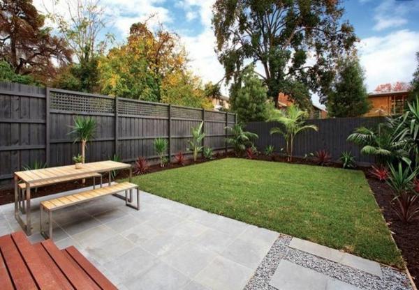 schöne Gartengestaltung Gartenideen landschaft trends einladend fußweg