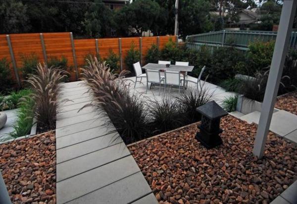 gartengestaltung Gartenideen landschaft trends einladend gartenweg