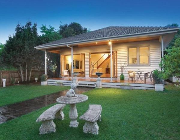 Gartengestaltung Gartenideen landschaft trends einladend häuschen