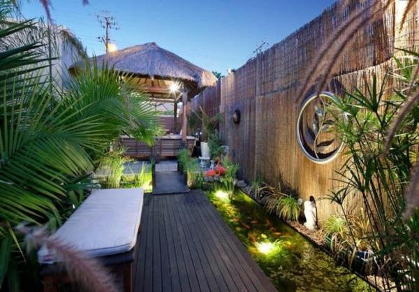 sitzbank Gartengestaltung Gartenideen landschaft trends einladend licht