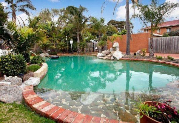 klares wasser Gartengestaltung Gartenideen landschaft trends einladend pool