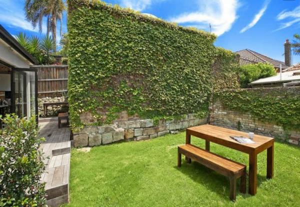 vertikaler garten Gartenideen landschaft trends einladend sitzecke