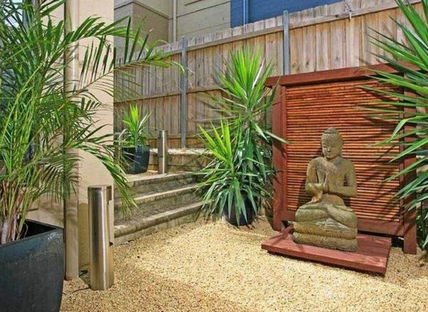 Gartenideen landschaft trends einladend statue