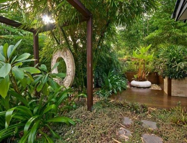 Gartenideen landschaft trends exotisch Moderne Gartengestaltung