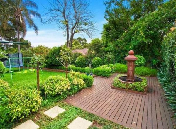 frische atmosphäre Gartenideen landschaft trends platten
