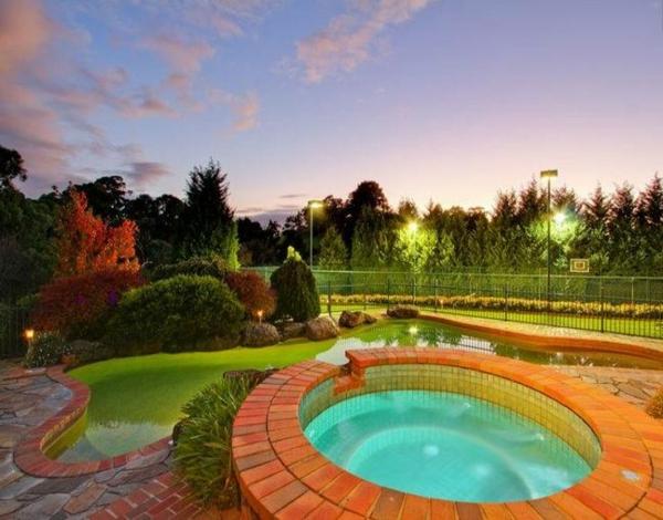 Moderne Gartengestaltung Gartenideen landschaft trends rund