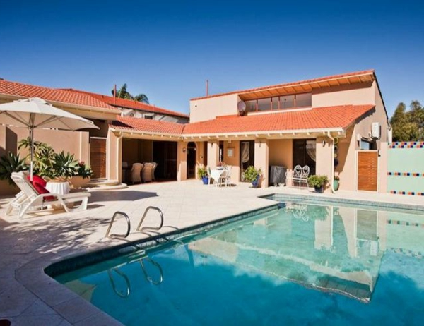 ziegel dach Gartenideen landschaft trends schwimmbad