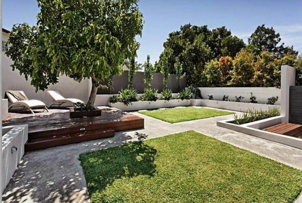 schatten baum Gartenideen landschaft trends strauch