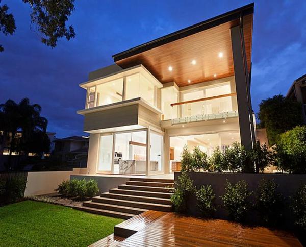 landschaft trends villa Gartenideen bemerkenswert design