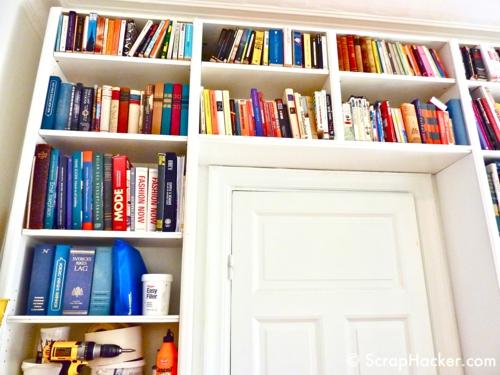 schön gemütlich farben Offener Bücherschrank bücherregale wohnen
