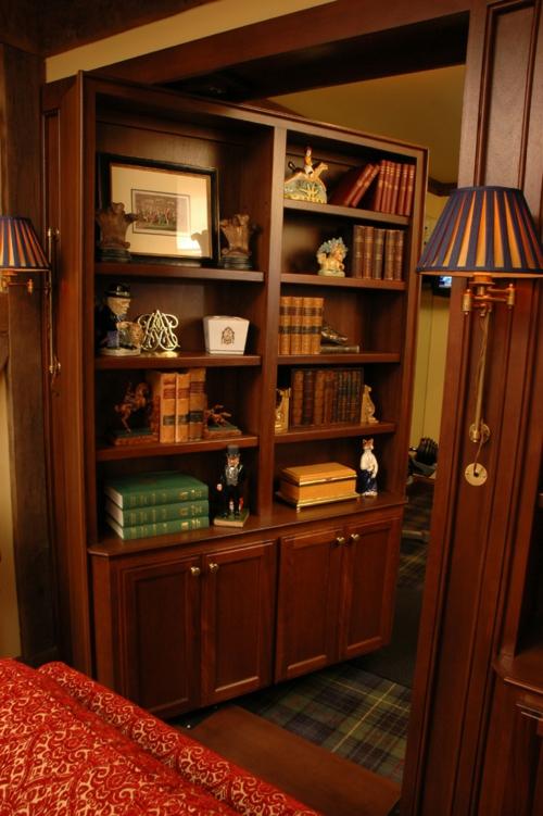 regale Bücherschrank  wohnen schön gemütlich geheim