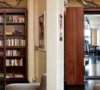 Offener Bücherschrank – Verfahren, wie Sie ein Bücherregal-Zugang einbauen