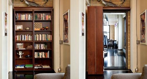 wohnen schön Offener Bücherschrank bücherregale  gemütlich originell