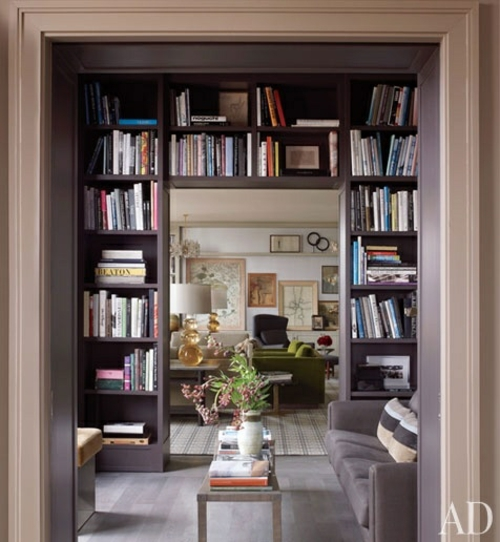 schön gemütlich zugang Bücherschrank bücherregale wohnen