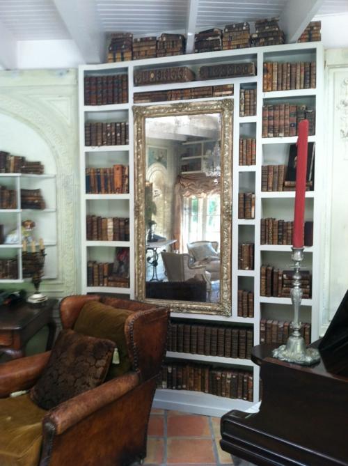 bücherregale wohnen schön lesen Bücherschrank