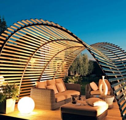 pergola bauen oder wie kann man eine gartenlaube selbst errichten. Black Bedroom Furniture Sets. Home Design Ideas