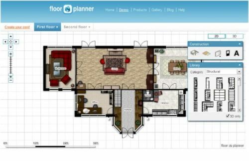 einrichtung entwurf Raumgestaltung online planen