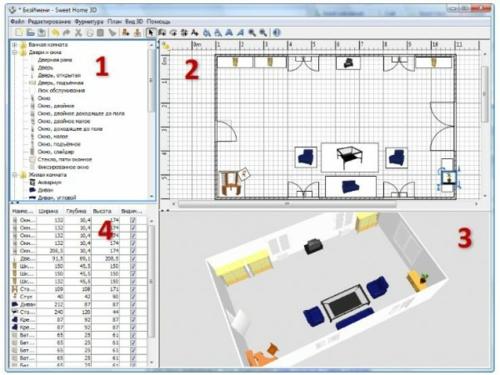 Raumgestaltung online planen die 10 besten raumplaner for Beste raumplaner software