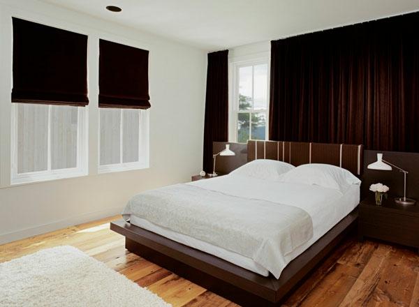 samt Gardinen und Vorhänge schlafzimmer rollladen
