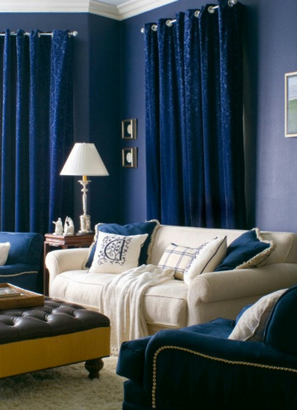 sofa tisch wohnzimmer tischlampe Samt Gardinen und Vorhänge