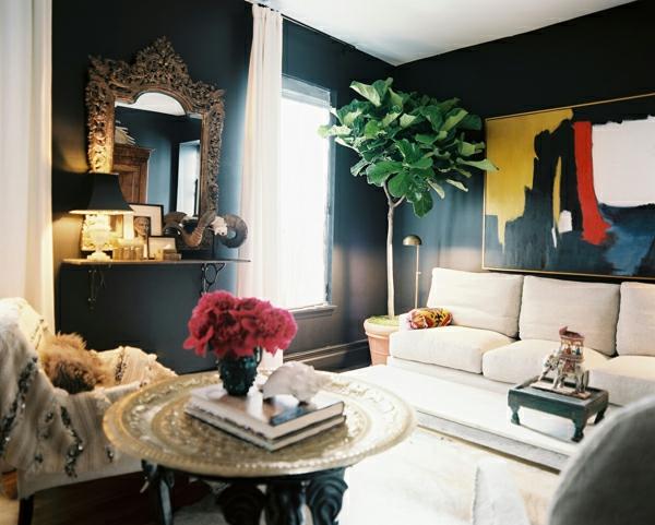 fancy servierbrett silber Schicke Einrichtungsideen fürs Wohnzimmer