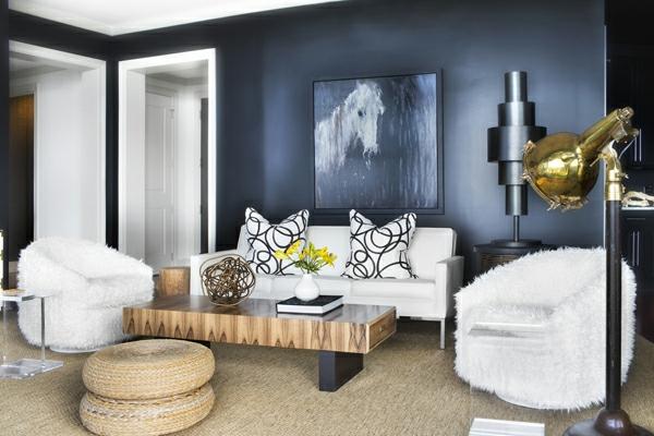Schicke Einrichtungsideen Fürs Wohnzimmer Wohnzimmer Grau Gold