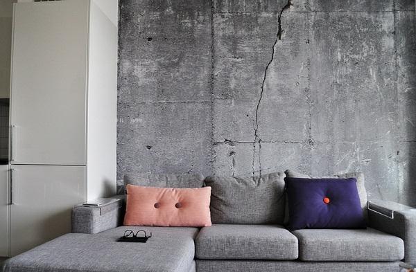 betonoptik badezimmer dekor. Black Bedroom Furniture Sets. Home Design Ideas