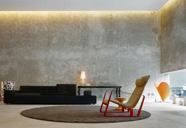 sichtbeton zu hause wie kann man seine sch nheit zur geltung bringen. Black Bedroom Furniture Sets. Home Design Ideas