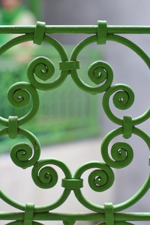 formen muster metall Terrassengeländer und Balkongeländer