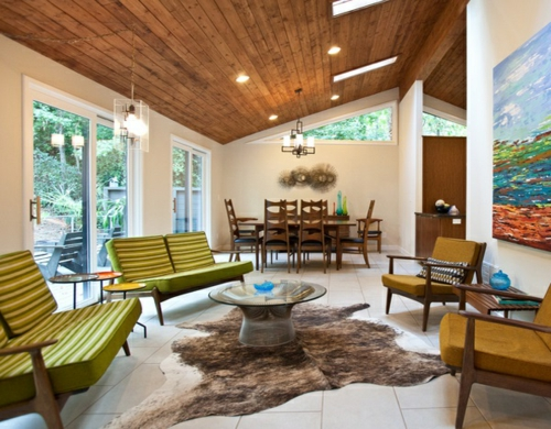 Deckengestaltung Wohnzimmer Modern