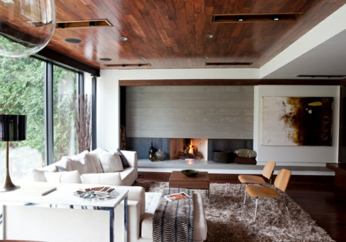 33 Einrichtungsideen Für Tolle Deckengestaltung Im Wohnzimmer Einrichtungsideen Wohnzimmer Mit Balken